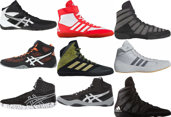 buy black wrestling shoes for men and women