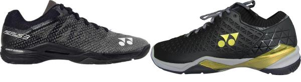 buy black yonex badminton shoes for men and women
