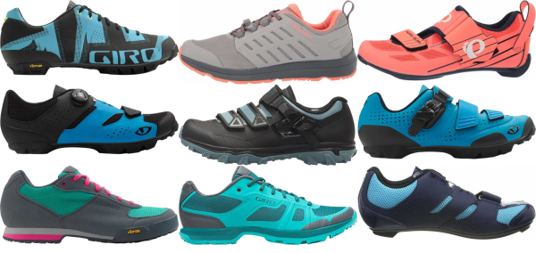 buy blue 2 holes cycling shoes for men and women