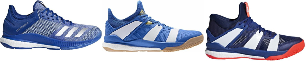 buy blue adidas boost volleyball shoes for men and women