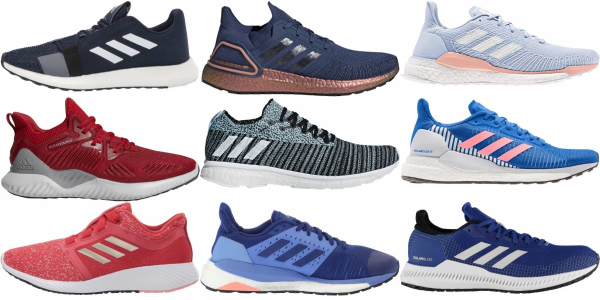 buy blue adidas running shoes for men and women