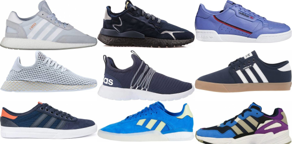 buy blue adidas sneakers for men and women