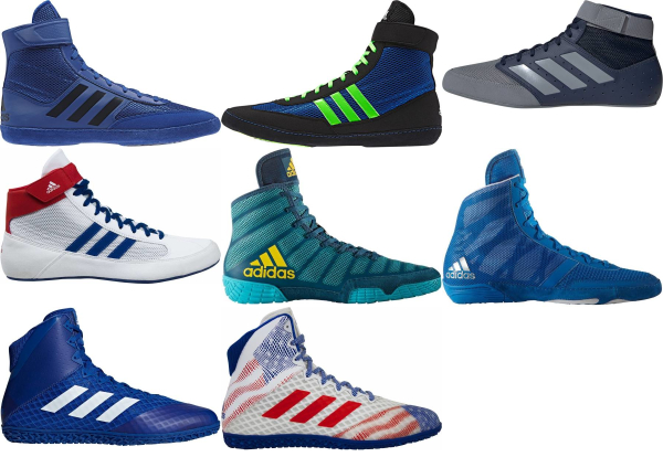buy blue adidas wrestling shoes for men and women