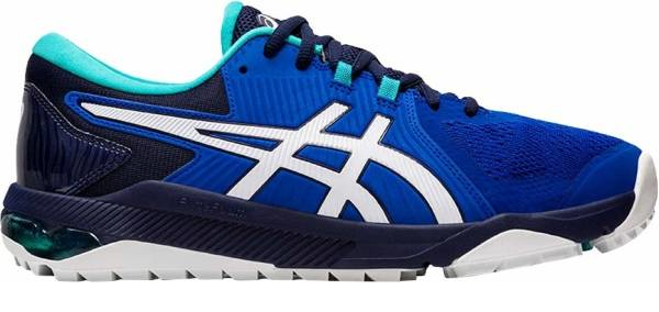 buy blue asics golf shoes for men and women