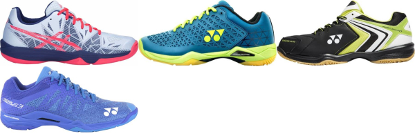 buy blue badminton shoes for men and women