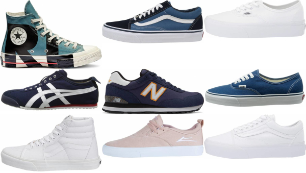 buy blue canvas sneakers for men and women