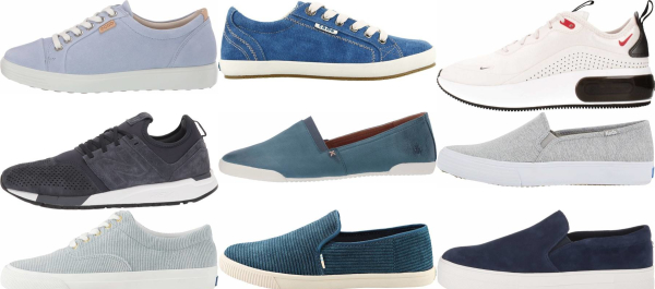 buy blue casual sneakers for men and women