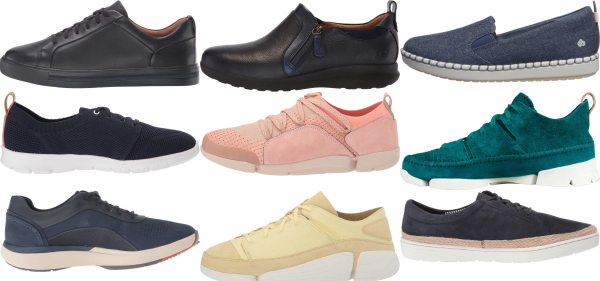 buy blue clarks sneakers for men and women