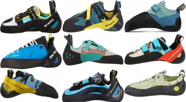 buy blue climbing shoes for men and women
