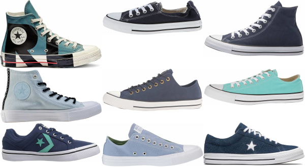 buy blue converse sneakers for men and women