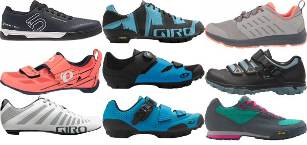 buy blue cycling shoes for men and women