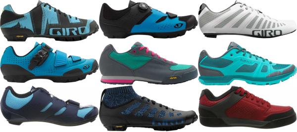 buy blue giro cycling shoes for men and women