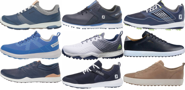 buy blue golf shoes for men and women