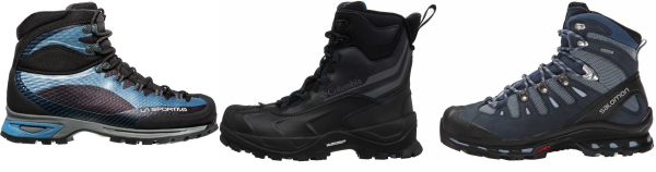 buy blue high cut hiking boots for men and women
