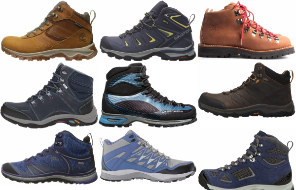 buy blue hiking boots for men and women
