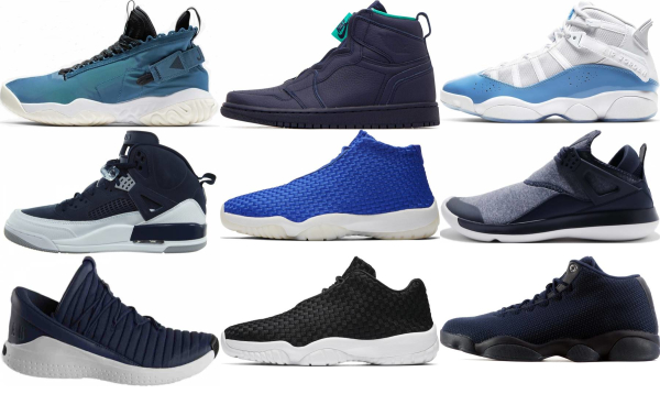 buy blue jordan sneakers for men and women