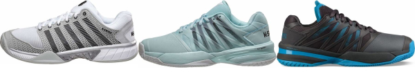 buy blue k-swiss tennis shoes for men and women