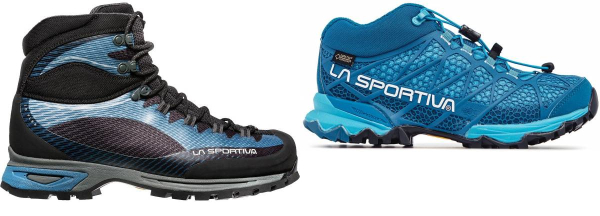 buy blue la sportiva hiking boots for men and women
