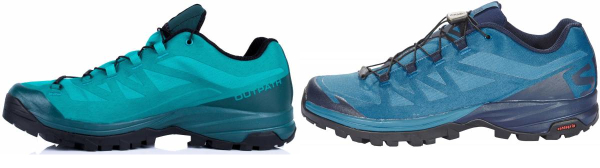 buy blue light hiking shoes for men and women