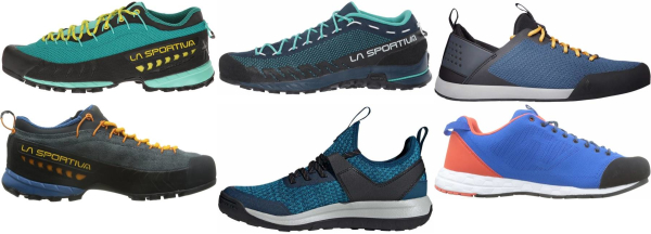 buy blue lightweight approach shoes for men and women