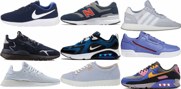buy blue low top sneakers for men and women
