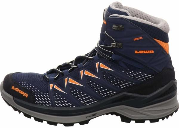 buy blue lowa hiking boots for men and women