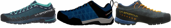 buy blue mesh upper approach shoes for men and women
