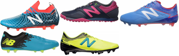 buy blue new balance soccer cleats for men and women