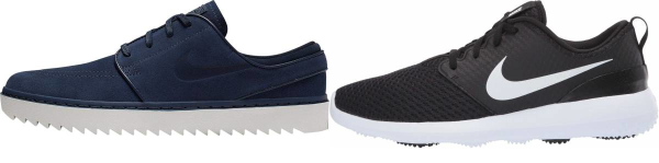 buy blue nike golf shoes for men and women