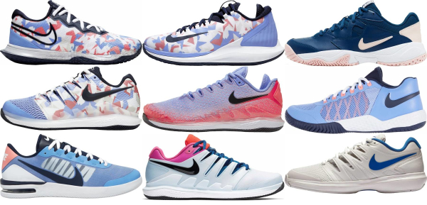 buy blue nike tennis shoes for men and women