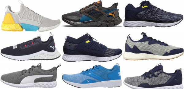 buy blue puma running shoes for men and women