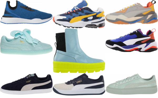 buy blue puma sneakers for men and women