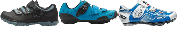 buy blue ratchet cycling shoes for men and women