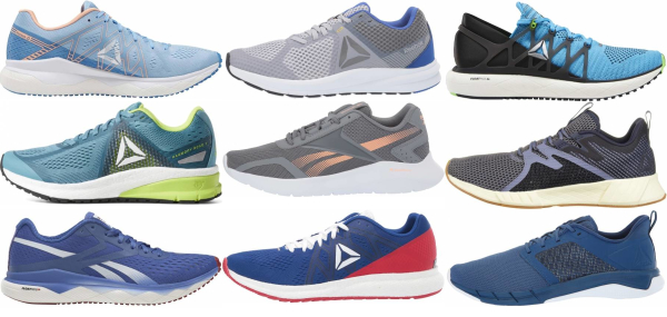buy blue reebok running shoes for men and women