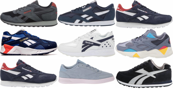 buy blue reebok sneakers for men and women