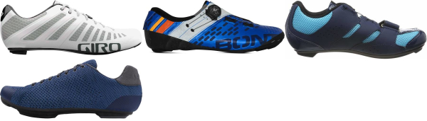 buy blue road cycling shoes for men and women
