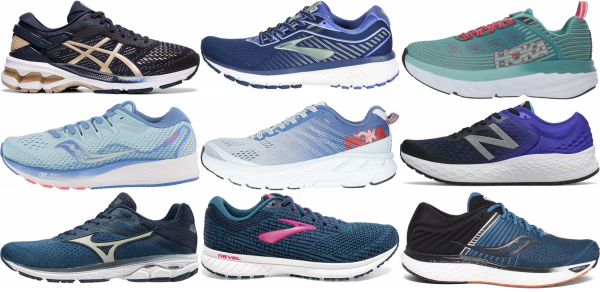 buy blue running shoes for men and women
