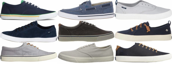 buy blue sperry  sneakers for men and women