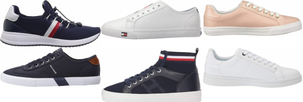 buy blue tommy hilfiger sneakers for men and women