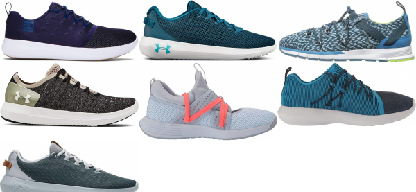 buy blue under armour sneakers for men and women