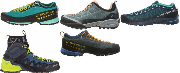 buy blue vibram sole approach shoes for men and women