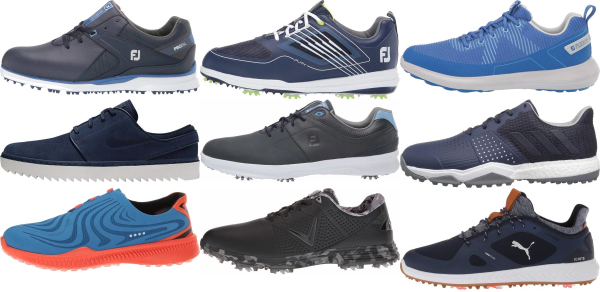 buy blue waterproofing warranty golf shoes for men and women