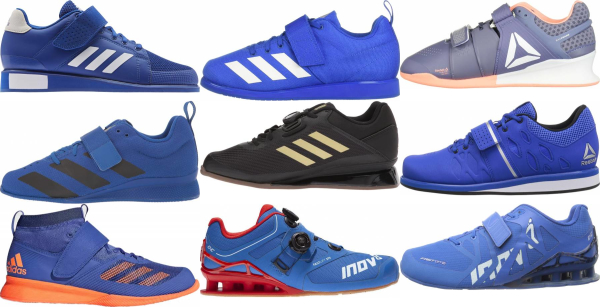 buy blue weightlifting shoes for men and women