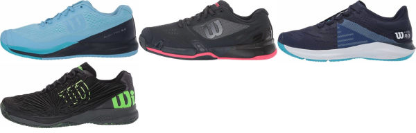 buy blue wilson tennis shoes for men and women
