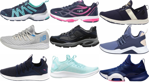 buy blue workout shoes for men and women