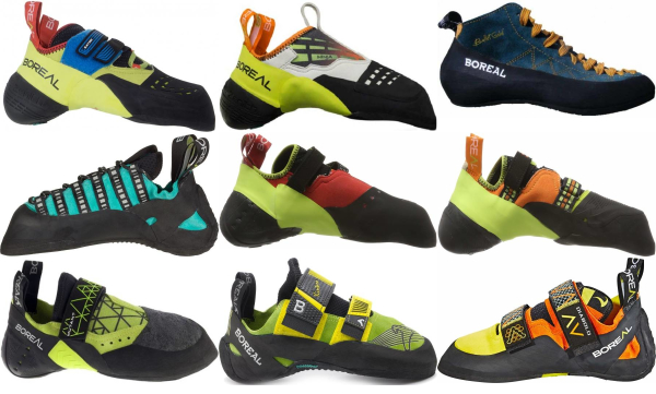 buy boreal climbing shoes for men and women