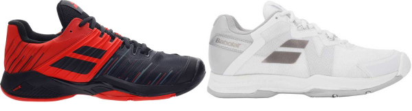 buy breathable babolat tennis shoes for men and women