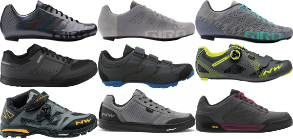 buy breathable grey cycling shoes for men and women