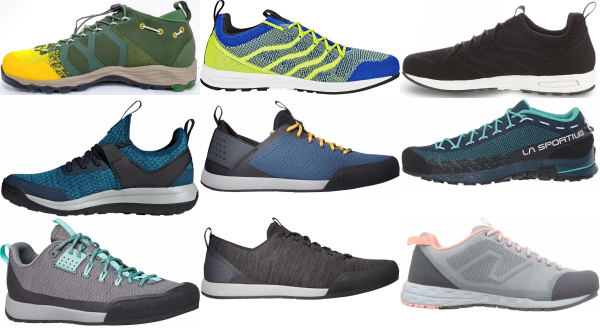 buy breathable knit upper approach shoes for men and women
