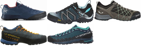 buy breathable mesh upper approach shoes for men and women